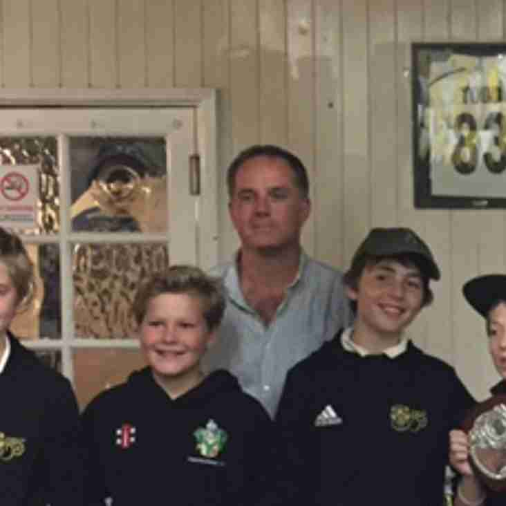 U11s & U12s pick up honours at 2017 MCA Colts Awards evening