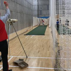 Junior Bowling Machine in Action