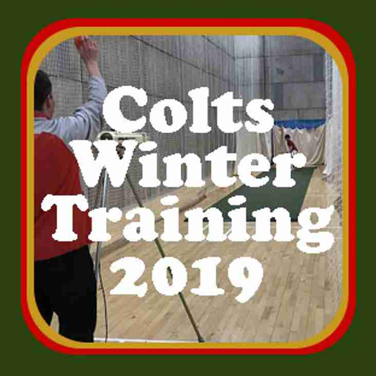 Colts Winter Training 2019