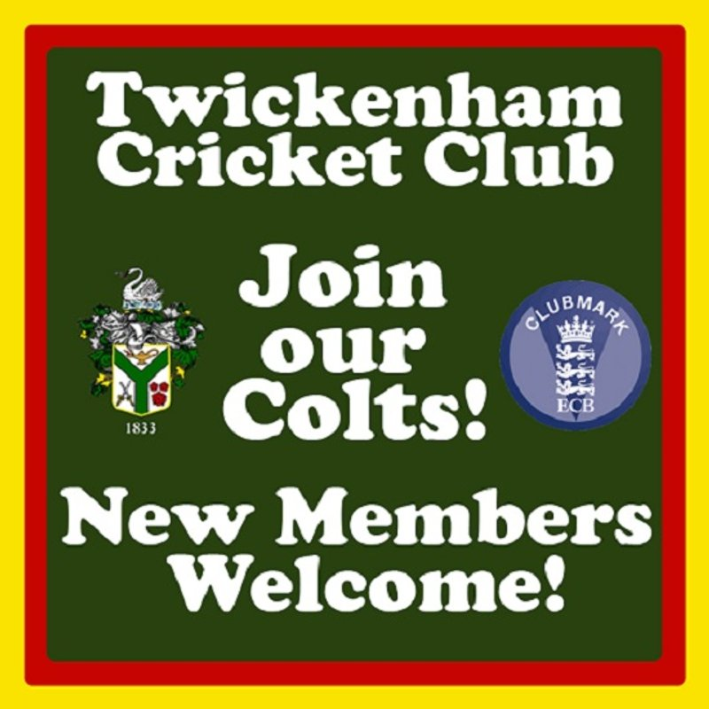 Join Twickenham CC Colts at 2019 Winter Training! New Members Welcome!