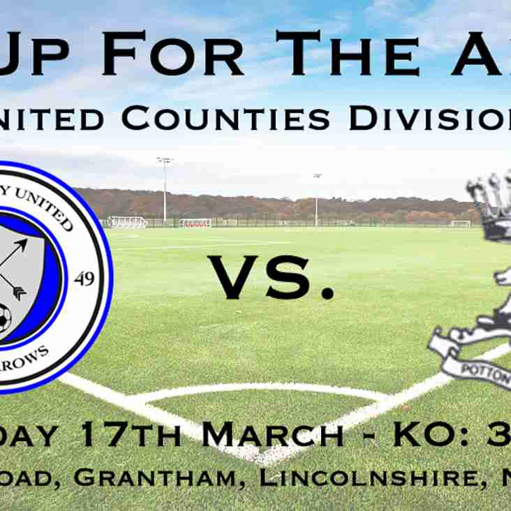 The Arrows welcome Potton United FC