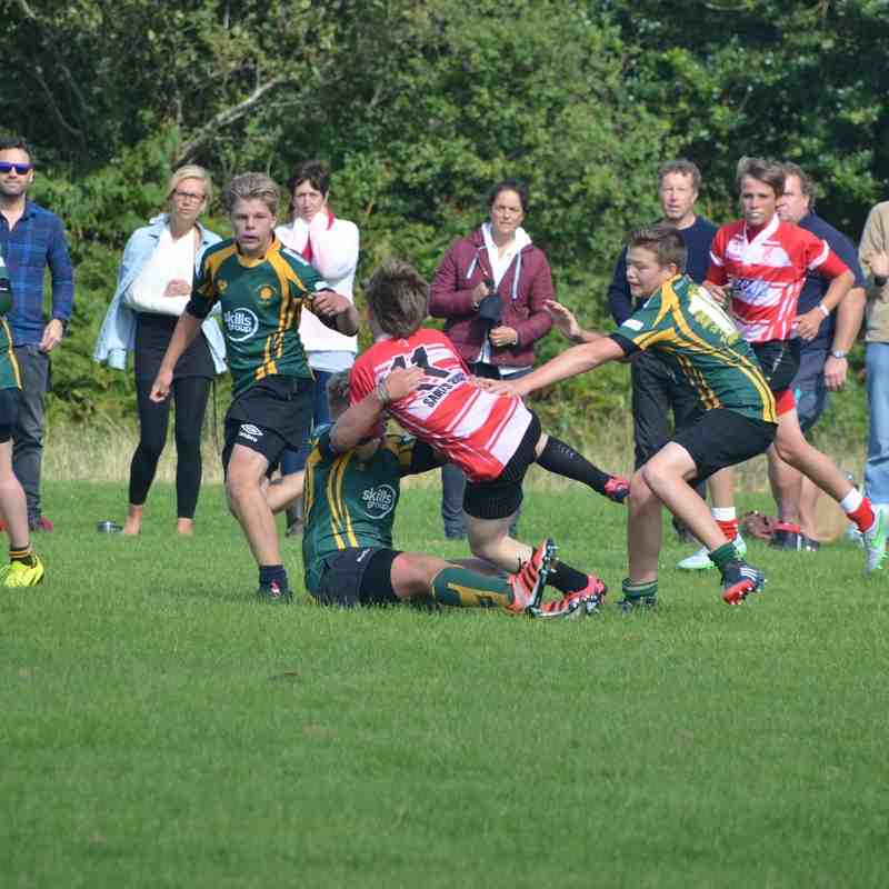 Under 14s Plymstock Albion Oaks Away 13/09/15