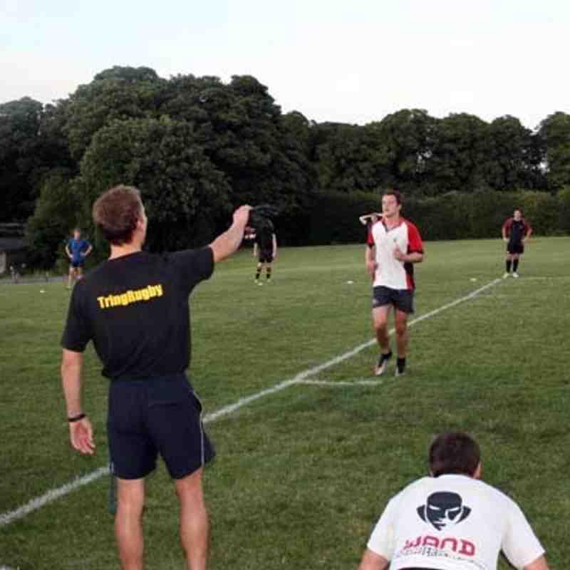 Senior Squad Pre Season Training (16.08.11)