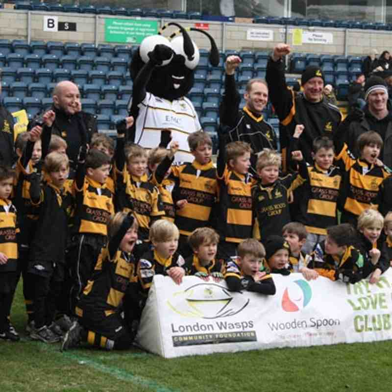 U7s / U8s at the Big Day Out (11.2.12)