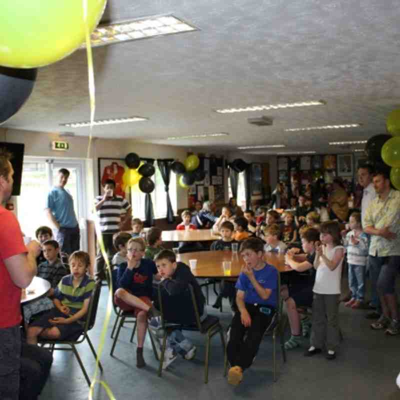 U9s End of Season Party 12.05.12