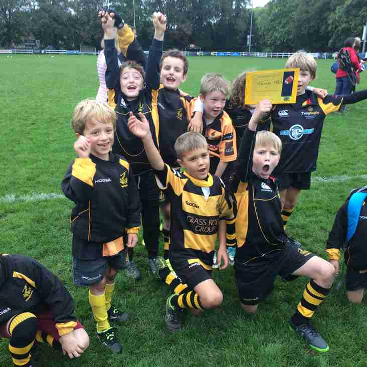 U8s win Fair Play Award at Henley Festival
