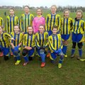 Leek Town U13's v Burntwood Girls U13