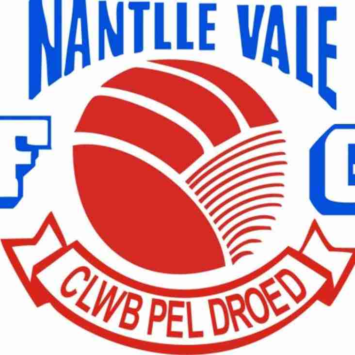 Preview for Wednesday's home game against Nantlle Vale at 19:30!