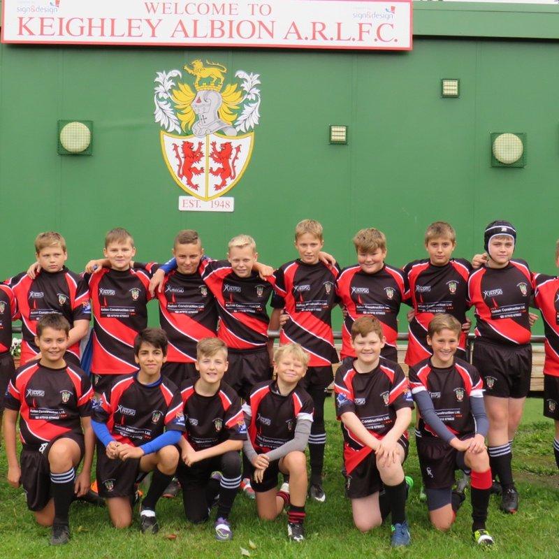 Under 12's team photo 23/9/18