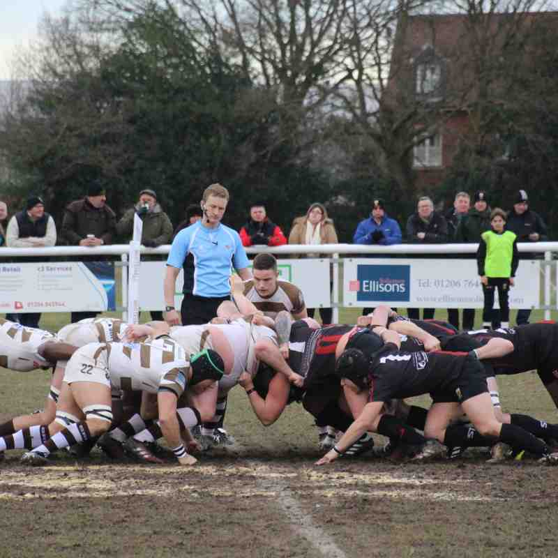 Colchester 1st XV vs Southend RFC