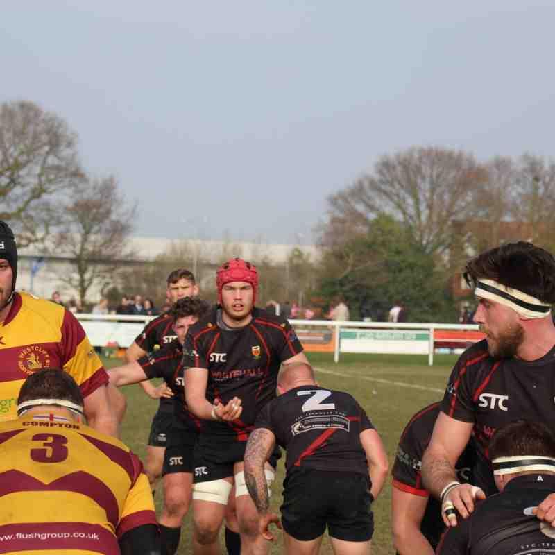 Colchester 1st XV vs Westcliff RFC