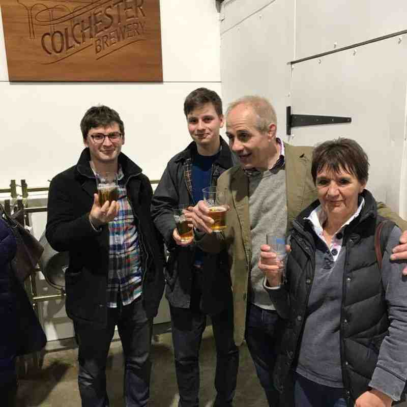 Colchester Brewery Trip ~ 28th April 2017