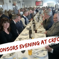 Sponsors Evening at CRFC..