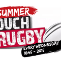 Summer Touch Rugby continues this week ~  6:45 for 7:00 start – finish 8:15