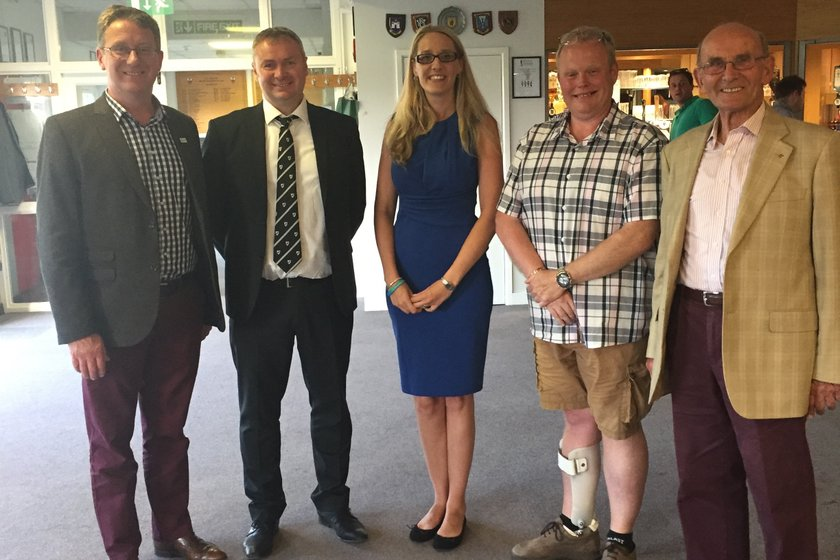 CRFC hosted guests from our charities at our sponsors' evening last week