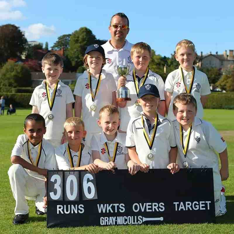 Under 9's SMJCL Cup final win at Bowdon CC