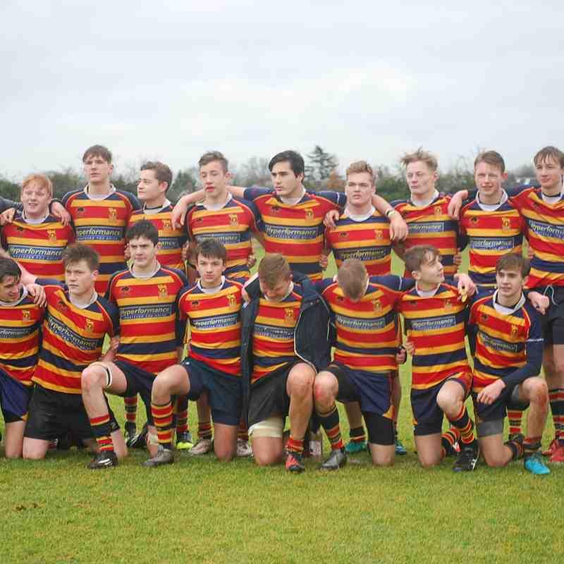 U16 1XV - KCS v London Irish - Fantastic win for our club 28:22