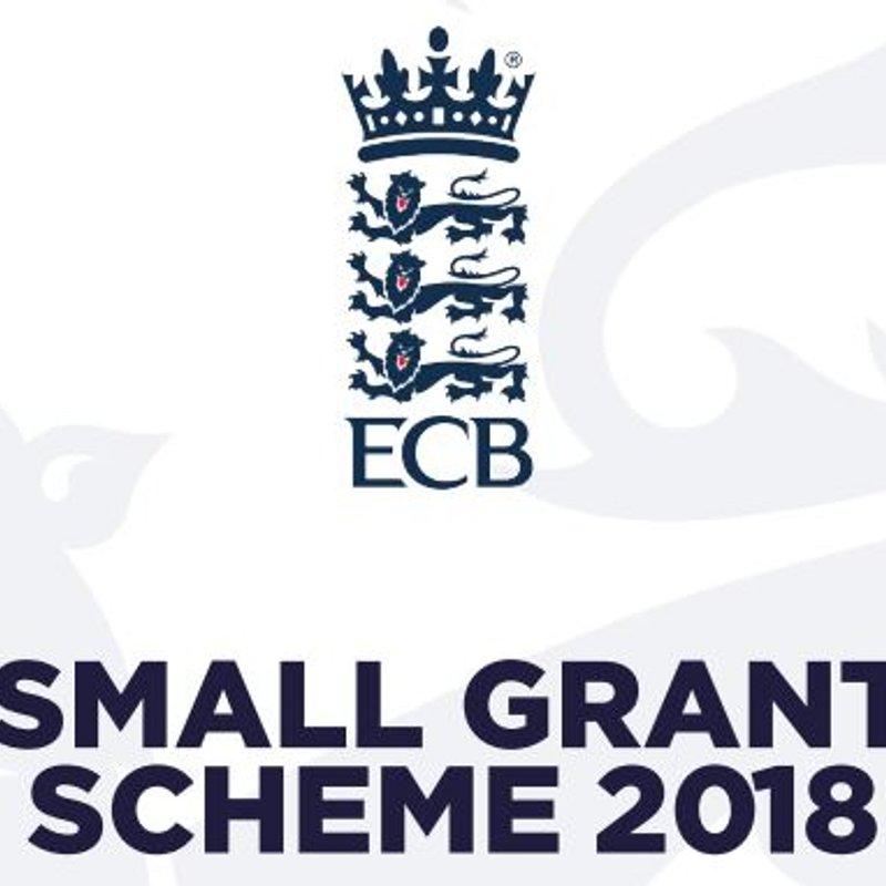 EWCT SMALL GRANT SCHEME 2018