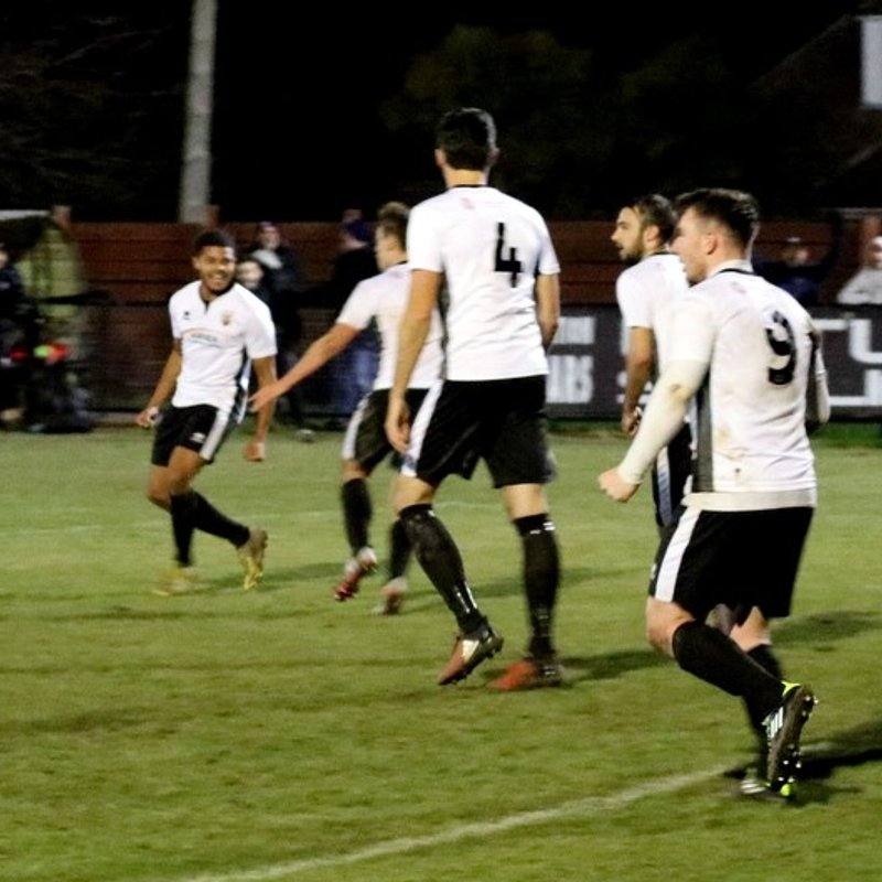 Davo's delight as Pagham beat Lewes 1-0 on the night!