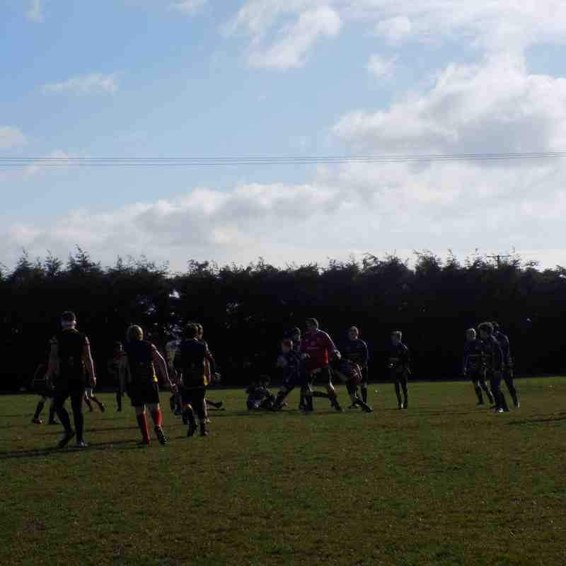 Under 13's against Thorney 19.02.17