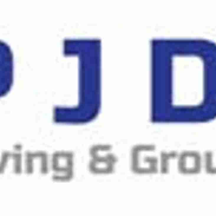 PJ Dyke Paving & Groundwork Ltd are proud sponsors of David Dyke