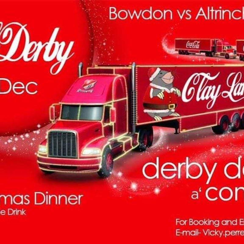 Derby Day - Bowdon RUFC v Altrincham Kersal