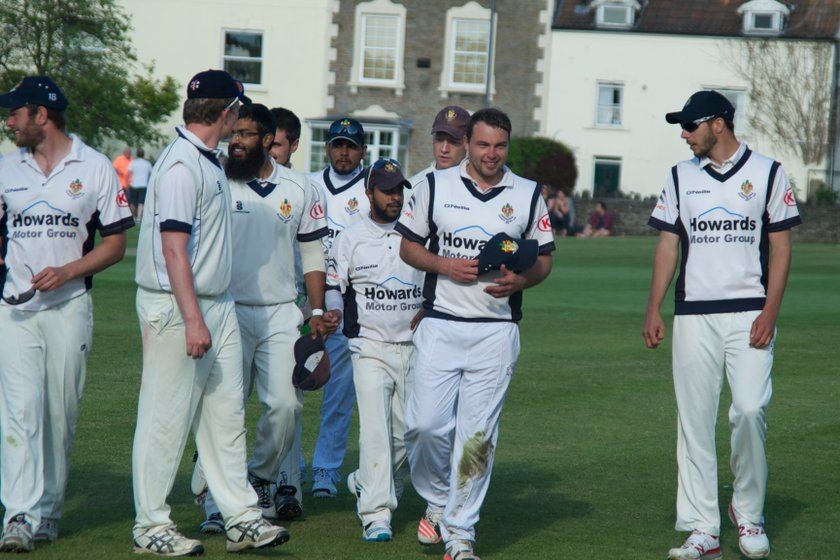 Lintott spins Clevedon to victory after Rowe's resolve