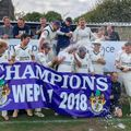 First XI v Potterne - club celebrates maiden WEPl title