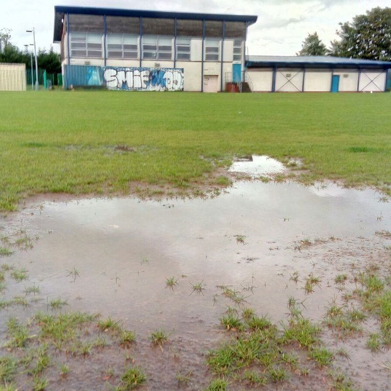 DELUGE AT THE DEANPARK OVAL......