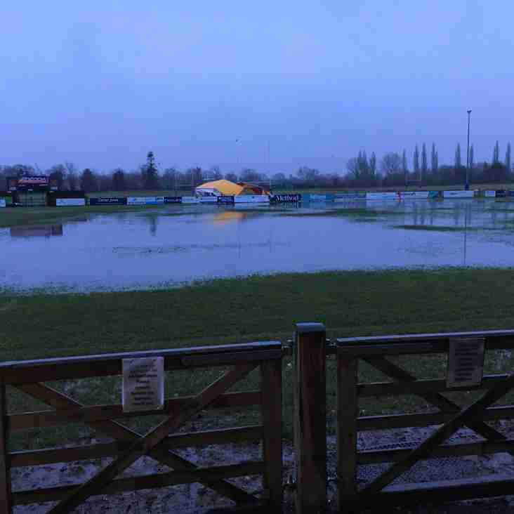 1st & 2nd XV Rugby postponed this weekend