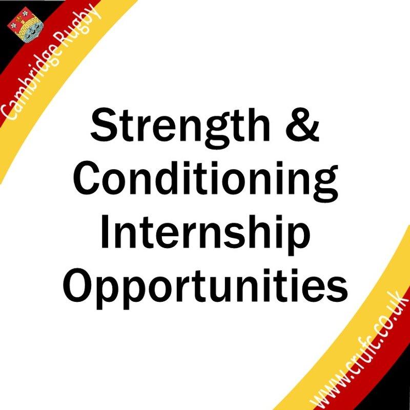 Strength and Conditioning Internship