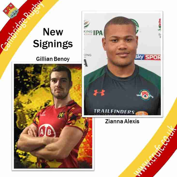 New Signings Strengthen our Pack