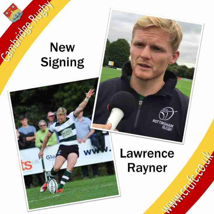 Lawrence Rayner Signing