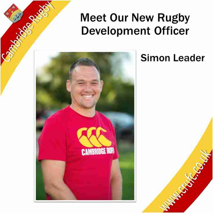 Simon Leader Appointment