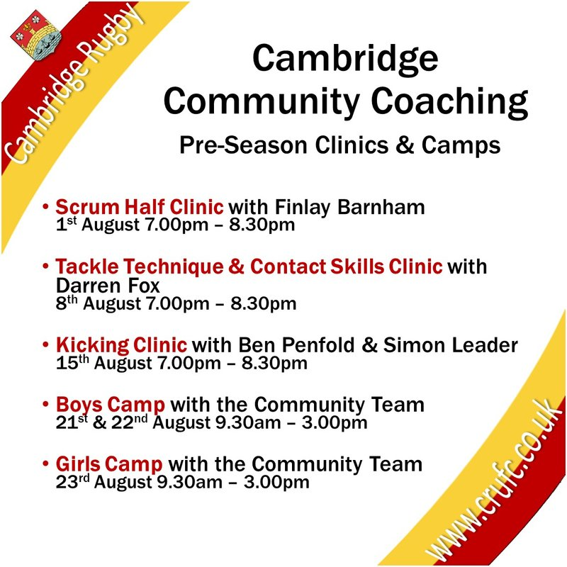 Summer Camps and Position Specific Clinics