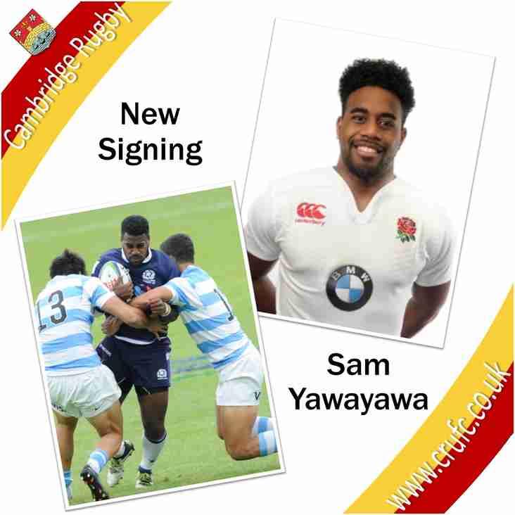 Sam Yawayawa Signing