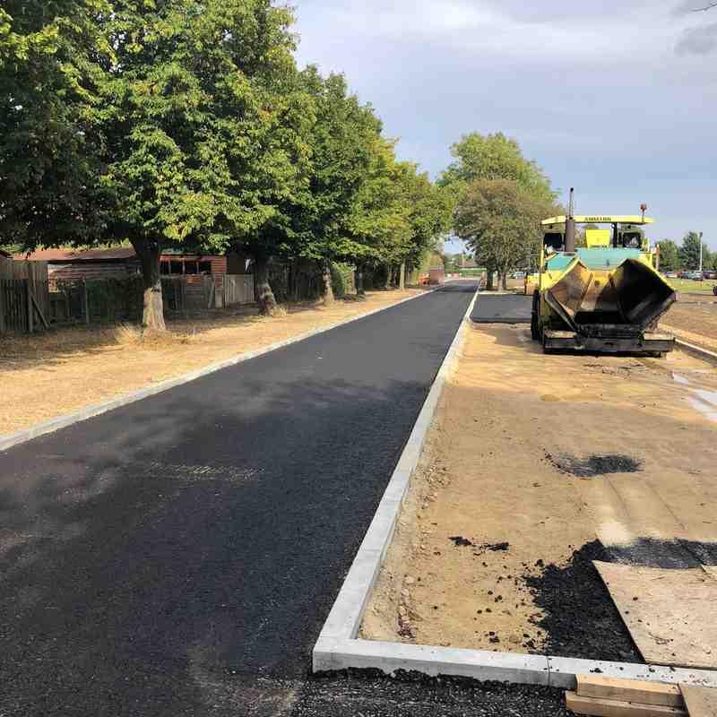Driveway Progress