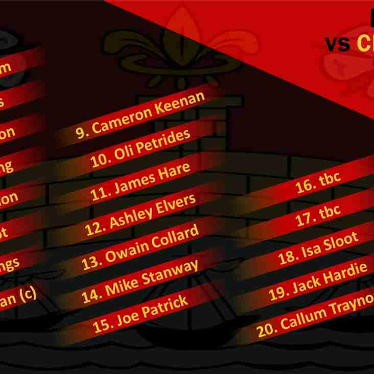 2nd XV Squad to Face Esher 2nds