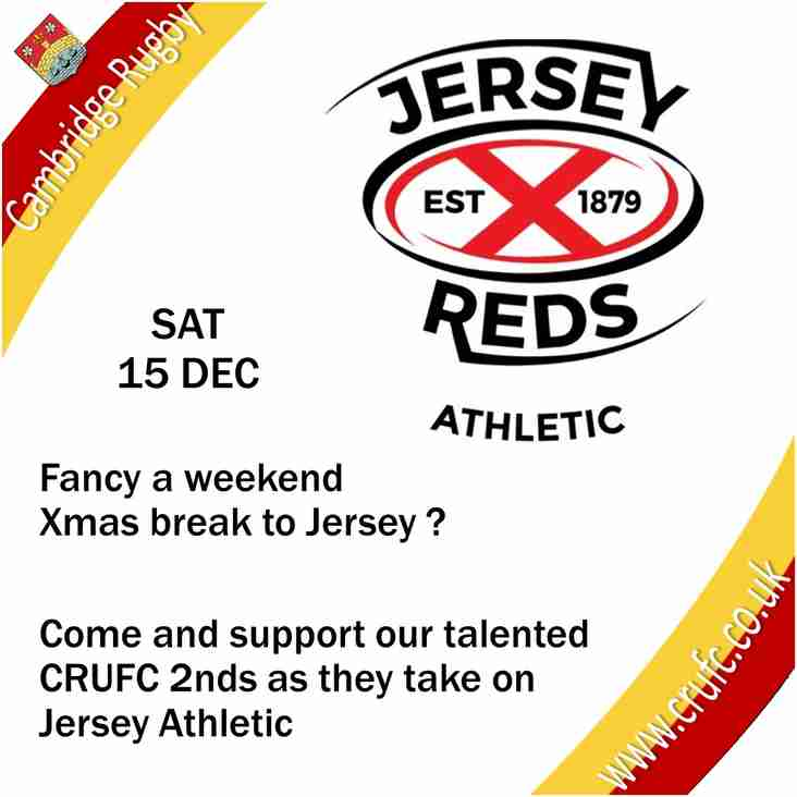 Jersey Athletic v CRUFC 2nds
