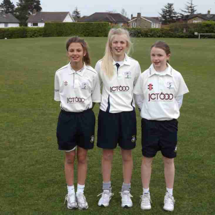 South Milford Girls in Yorkshire Squad