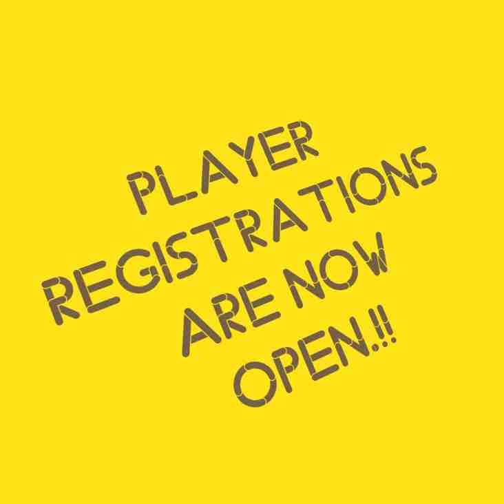 Player Registrations