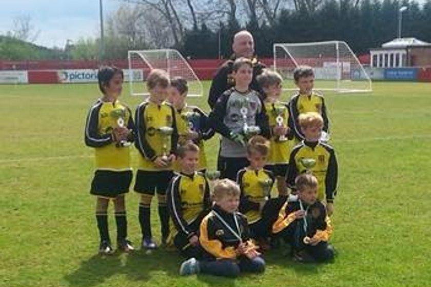 Under 12s beat Littleover Dazzlers Seville 2 - 4