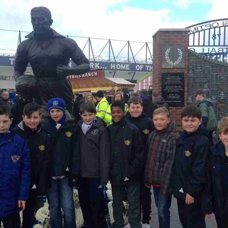 Maghull FC U12s Attend EFC Game