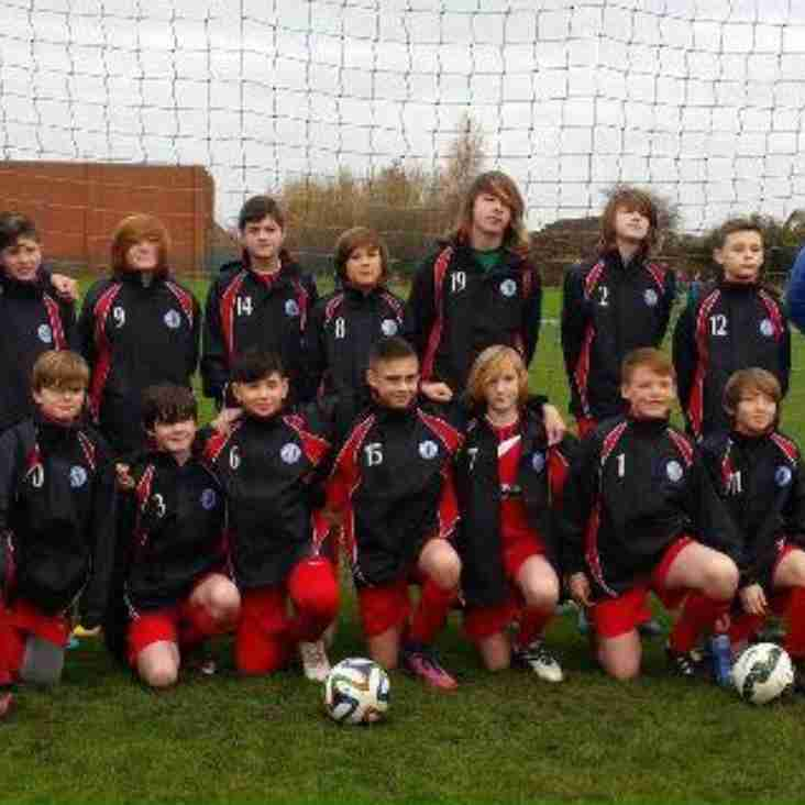 Maghull FC U13 Blue Starlets Chosen For Knowsley Boys