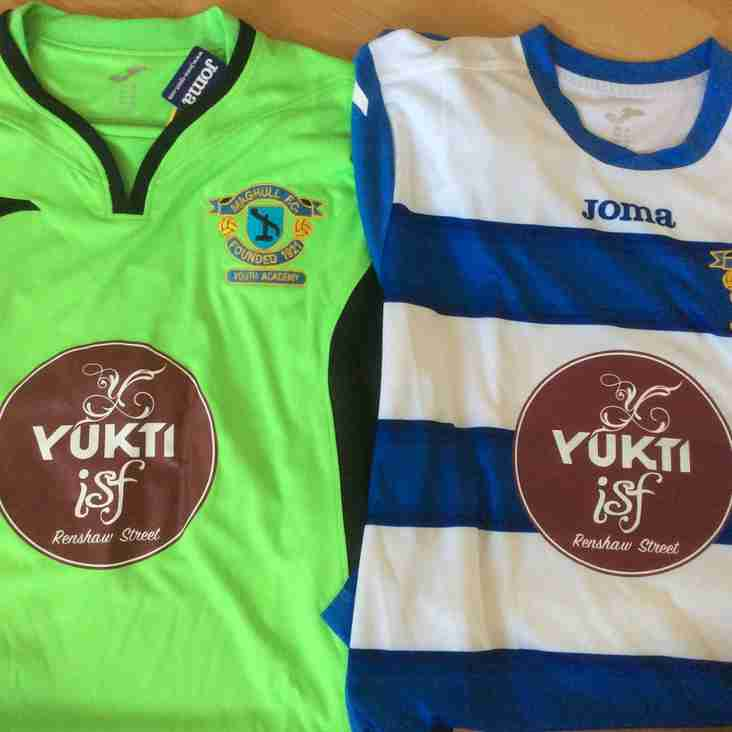 Yukti Restaurant is the new sponsor for U14s