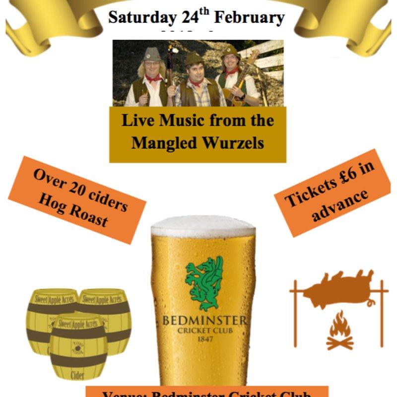 Cider Night - 24th February 2018
