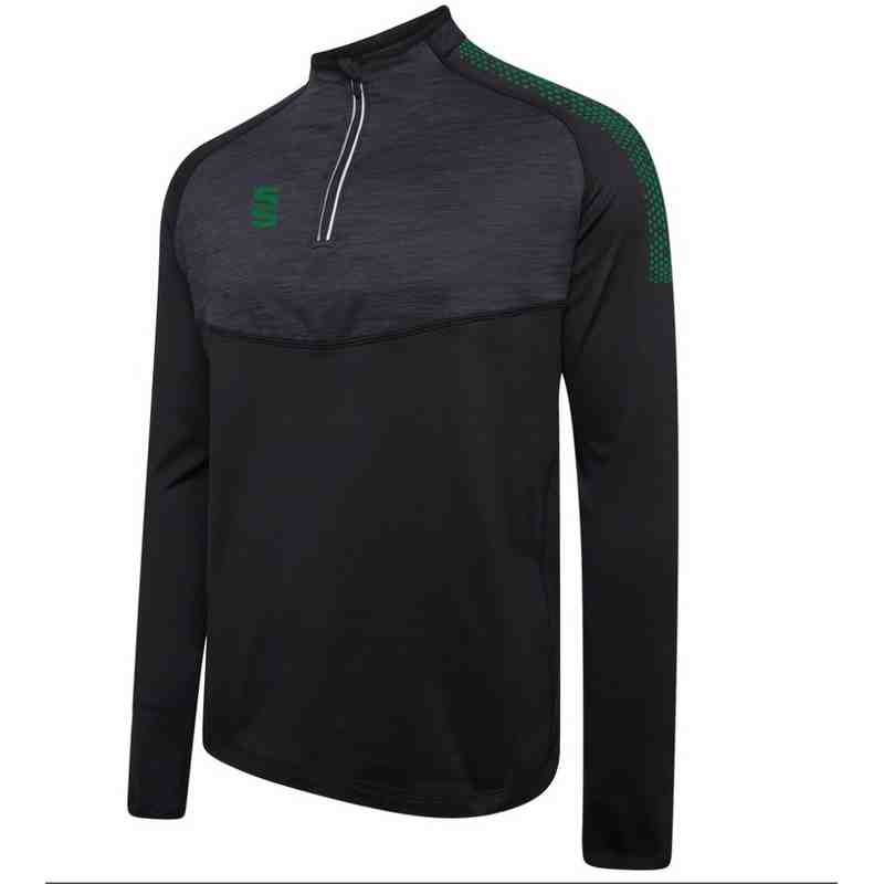NEW - Training Wear - 1/4 Zipped Duel Performance