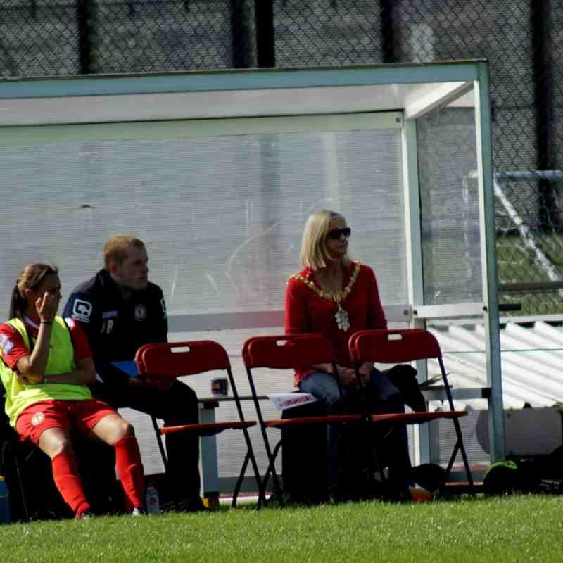 2016-17 SEASON:  Crewe Ladies Vs Chorley Ladies