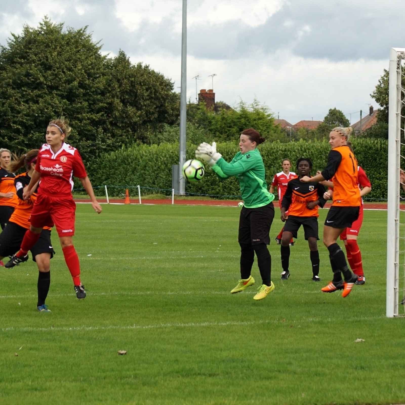 FAWPL 2016/17 SEASON Crewe Ladies Vs Chorley Ladies