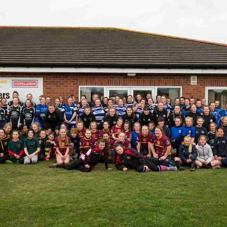 Pitch-up and Play event for U13 and U15 girls